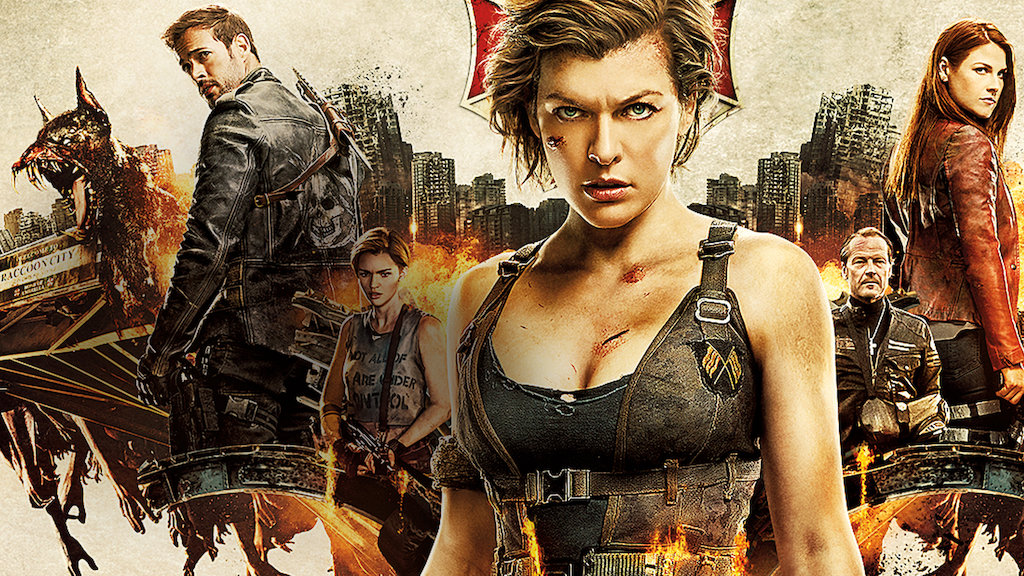 Resident Evil The Final Chapter Netflix