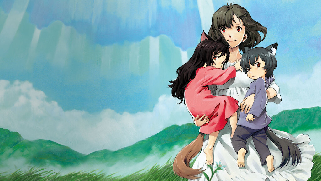 Wolf Children anime