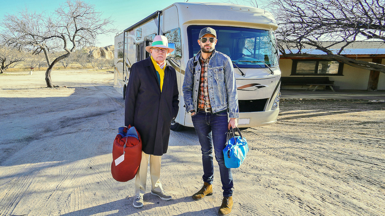 Jack Whitehall Travels With My Father Netflix Official Site