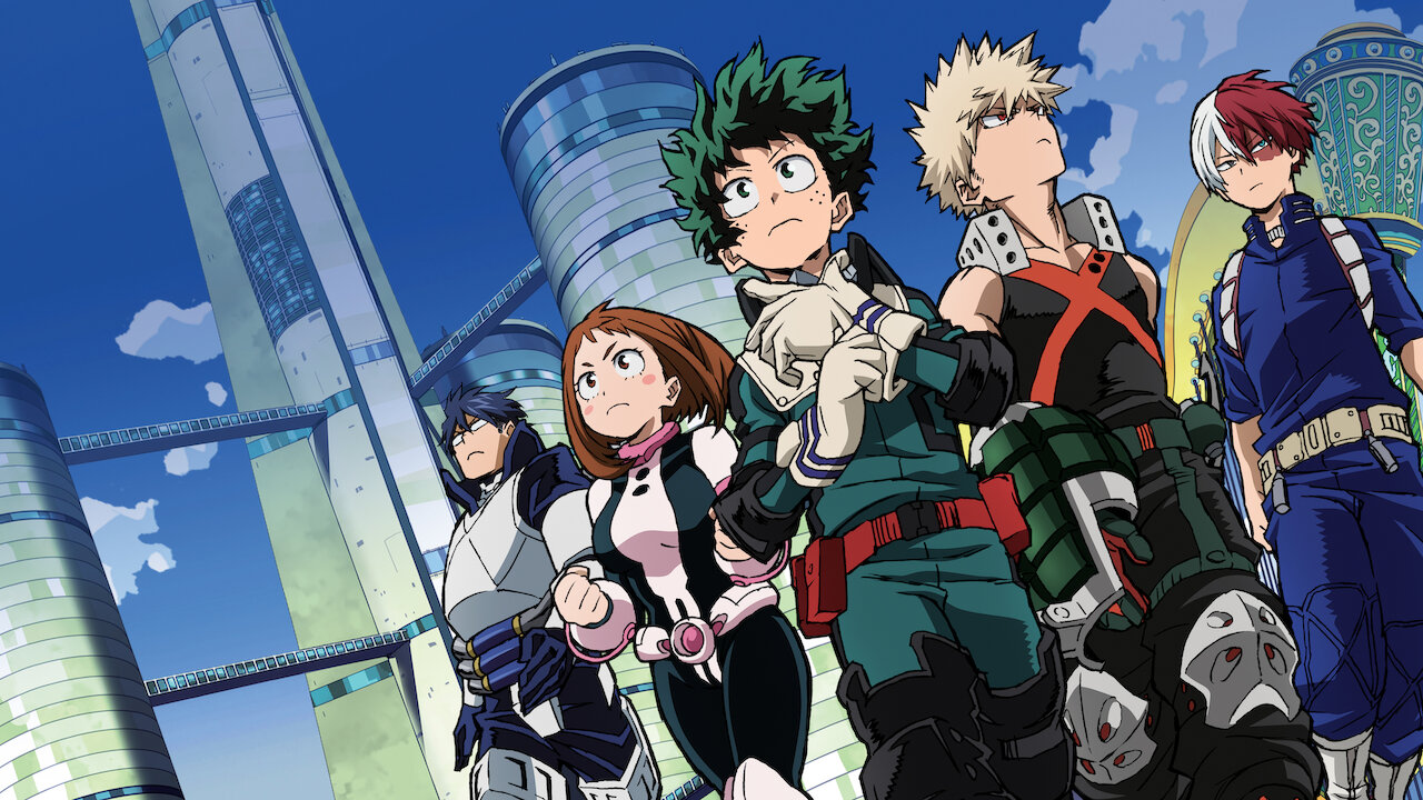 My Hero Academia Two Heroes Netflix