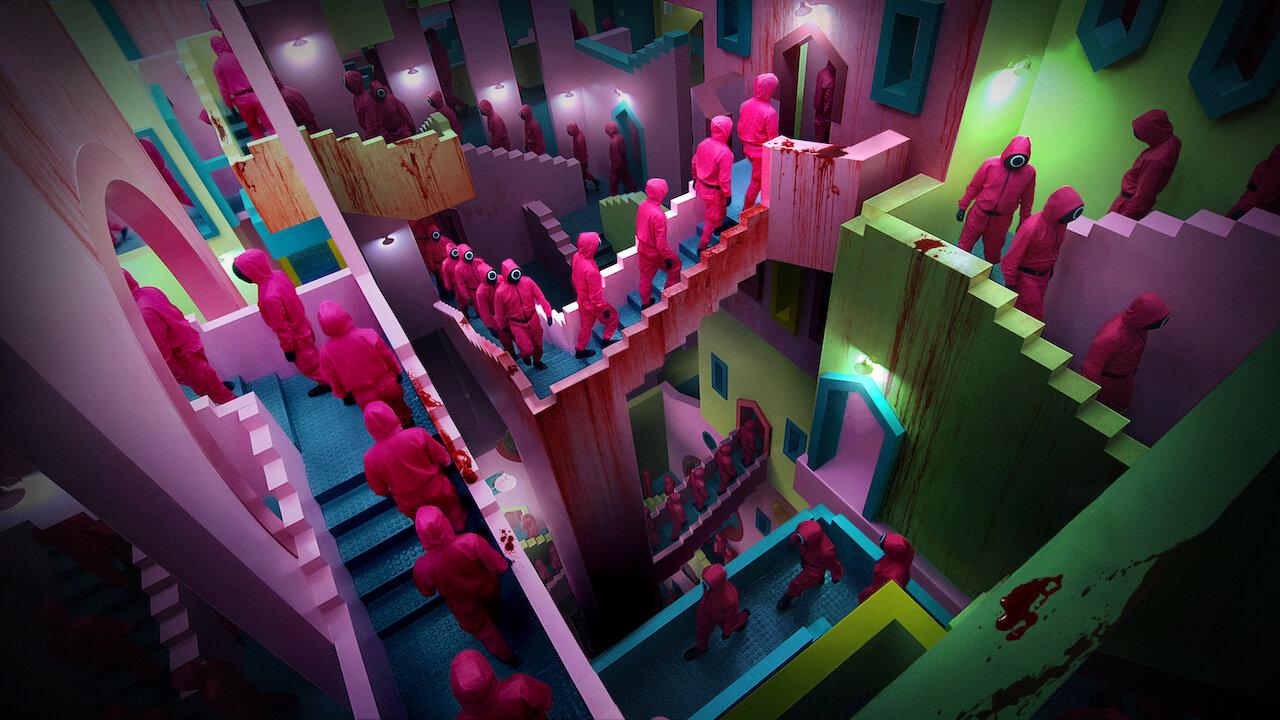 Squid Game – Trò chơi sinh tồn kinh dị với gam màu... tươi sáng bất ngờ từ Netflix