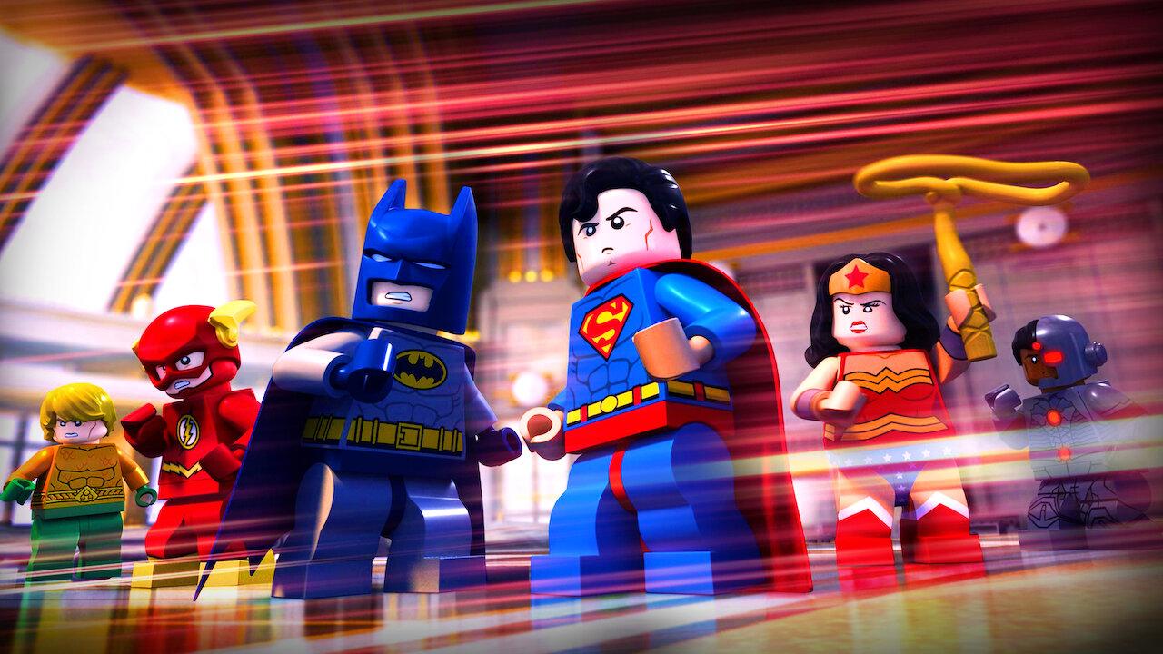 Lego Dc Comics Batman Be Leaguered Netflix